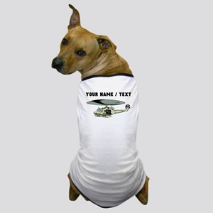 Custom Military Helicopter Dog T-Shirt