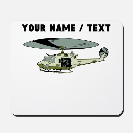 Custom Military Helicopter Mousepad