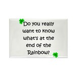 End of the Rainbow Rectangle Magnet (10 pack)
