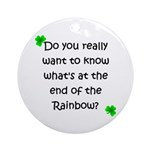 End of the Rainbow Ornament (Round)