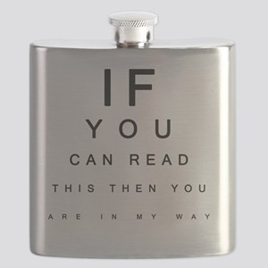 If you can Read This Flask