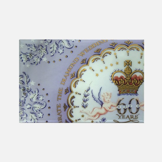London. Commemorative souvenir pl Rectangle Magnet