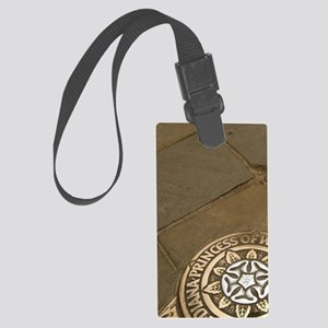 London. Diana Princess of Whales Large Luggage Tag
