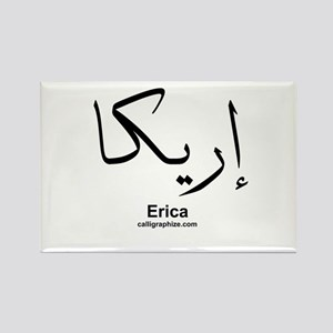 Erica Arabic Calligraphy Rectangle Magnet