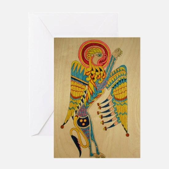 Lion of Mark Note Cards (Pk of 10) Greeting Cards