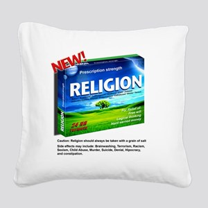 RELIGION Square Canvas Pillow