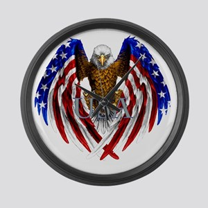eagle2 Large Wall Clock