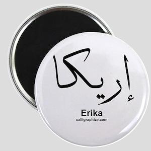 Erika Arabic Calligraphy Magnet