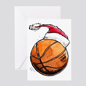 Xmasbasketball Greeting Card