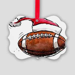 XmasFootball Picture Ornament
