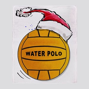 XmasWaterPolo Throw Blanket