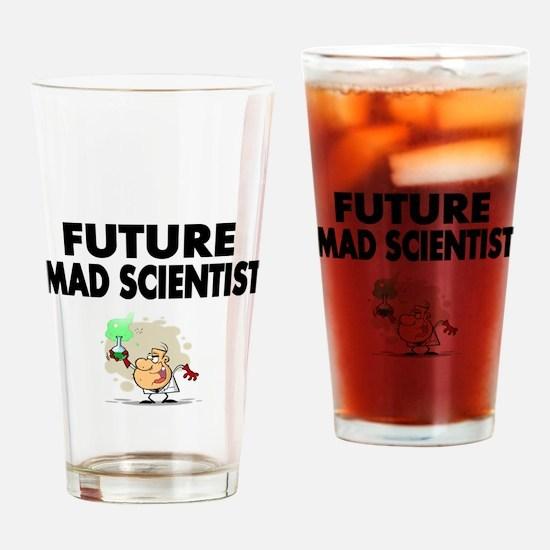 Future Mad Scientist Drinking Glass