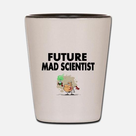 Future Mad Scientist Shot Glass