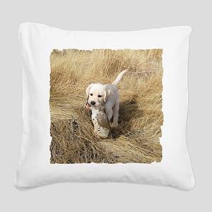 labpuphunt shirt Square Canvas Pillow