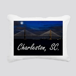 Charleston Puzzle Rectangular Canvas Pillow