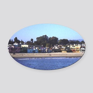 capitola Oval Car Magnet