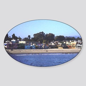 capitola Sticker (Oval)
