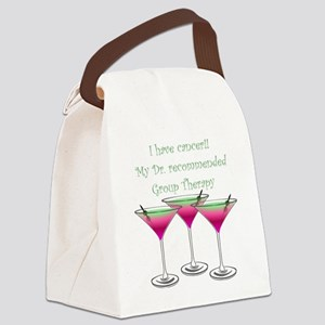 Group therapy dr1 Canvas Lunch Bag