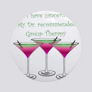 Group therapy dr1 Round Ornament