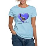 I Love Racing Siberians Women's Light T-Shirt