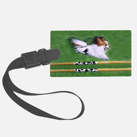 agility dog art1 Luggage Tag