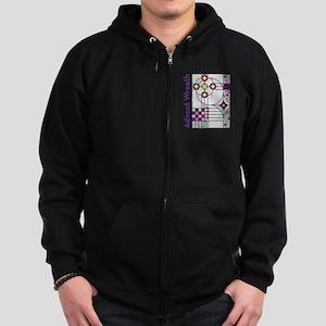AdventWreath10inBag Zip Hoodie (dark)