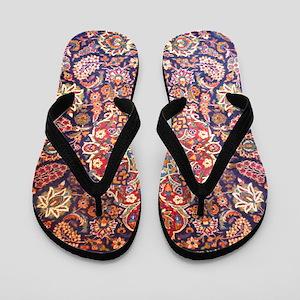 Handmade carpet Flip Flops