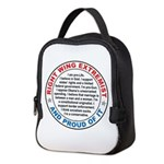 Right Wing Extremist Neoprene Lunch Bag