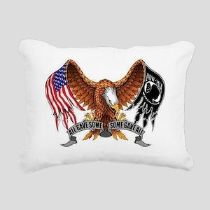 POW MIA Rectangular Canvas Pillow