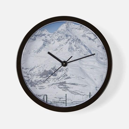 Gornergrat Train / Winters, ZERMATT: Go Wall Clock