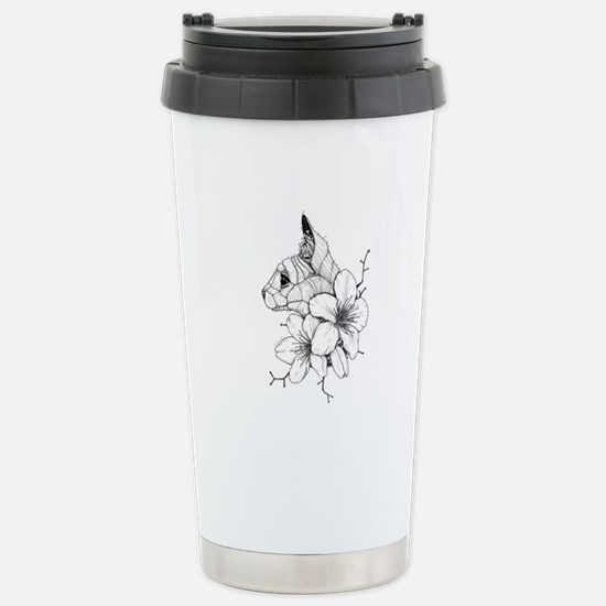 Sphynx Cat and Sakura Mugs