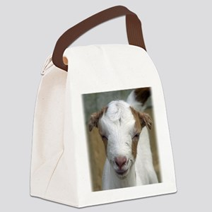 Baby Goat Cami Canvas Lunch Bag