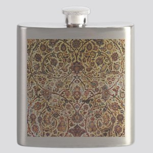 Persian silk carpet 2 v Flask