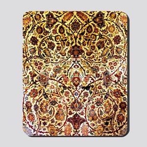 Persian silk carpet 2 v Mousepad