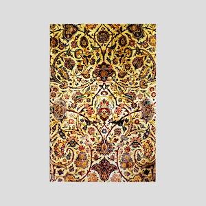 Persian silk carpet 2 v Rectangle Magnet