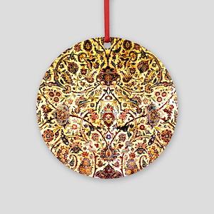 Persian silk carpet 2 v Round Ornament