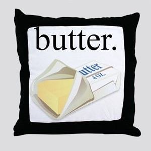 butter. Throw Pillow