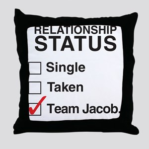 single_taken_teamjacobCP Throw Pillow