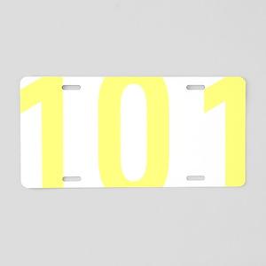 101 Aluminum License Plate