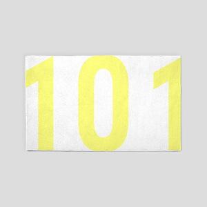 101 3'x5' Area Rug