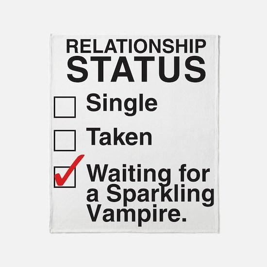 single_taken_sparking_vampireCP Throw Blanket
