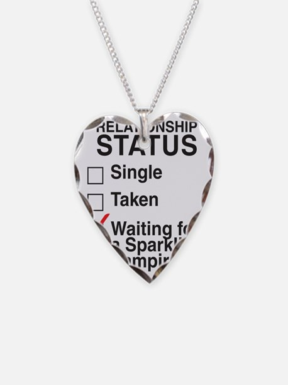 single_taken_sparking_vampire Necklace
