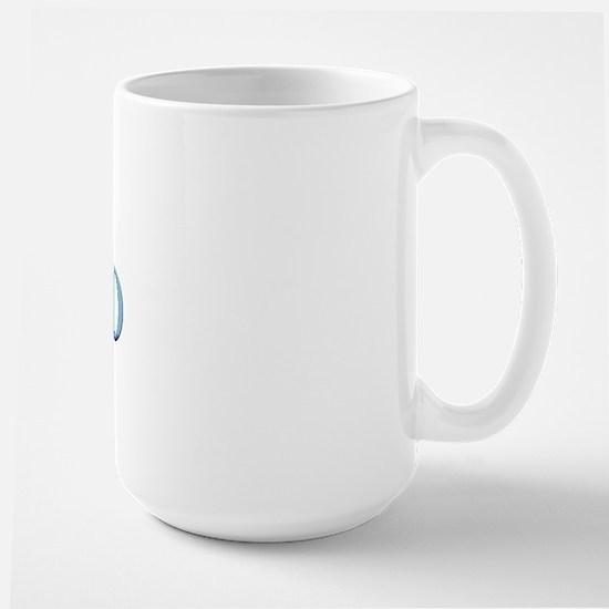 Calico Cat - MyPetDoodles.com Large Mug