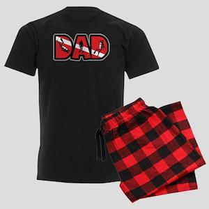 SCUBA Dad Men's Dark Pajamas