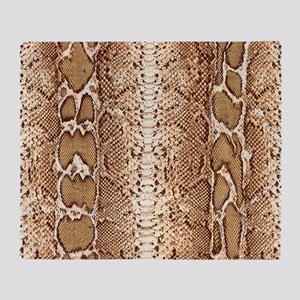 pillow-snake-skin-3 Throw Blanket