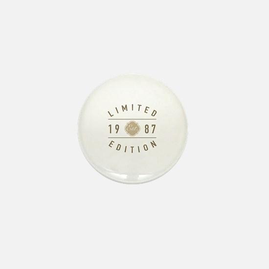 Limited edition Mini Button