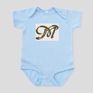 Phyllis Initial M Infant Creeper
