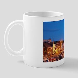 Weymouth Harbour, at dusk, Weymouth, Do Mug