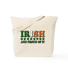 Irish and Proud of It 3D Tote Bag