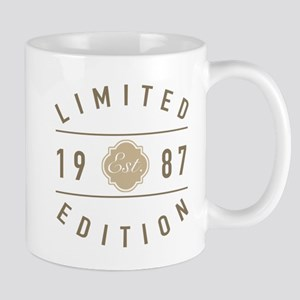 1987 Limited Edition Mugs